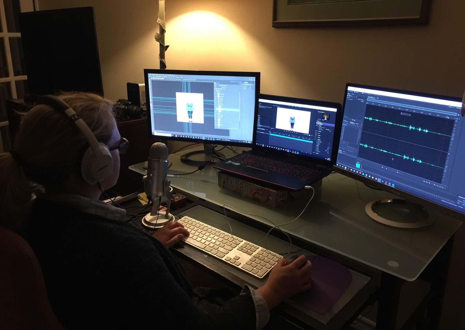 Sharon video editing